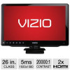 Vizio 26″ Class Razor LED HDTV – 1080p, 60Hz, 20000:1 Dynamic, 6ms, 2x HDMI, VGA, Energy Star (Refurbished) for $149.99
