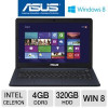 ASUS X401A-BCL0705Y Intel Celeron Dual-Core 1000M 1.8GHz 4GB DDR3 320GB HDD Windows 8 14″ Display Notebook PC for $289.9…