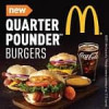 Free McDonald's Quarter Pounder with just 25 My Coke Rewards Points – Wednesday's deal (today only)