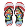 Kids Licensed Character Flip Flops (My Little Pony, Hot Wheels, Icee, Curious George, Tootsie Roll, Bart Simpson, Sugar …
