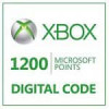 Xbox Live Microsoft 1200 Points for $5