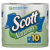 4-Count Scott Naturals Two-Ply Mega Rolls Toilet Paper – $2.07 w/S&S & Coupon Amazon.com