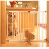 Carlson Extra-Wide 29-34″ Walk-Through Child Safe Gate with 10″ Pet Door and One-Touch Release Handle! for $34.99