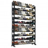 Ten-Tier Shoe Rack with Capacity for Fifty Pairs! for $27.99