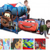 Playhut Disney Adventure Hut Playhouse with 2.5′ Play Tunnel – Choice of 4 Disney Character Designs! for $17.99