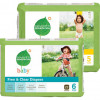 Seventh Generation Latex & Fragrance Free Diapers – Choice of Stage 5 (104 Diapers) or Stage 6 (88 Diapers)! for $29.99