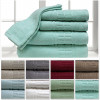 6-Piece Set: 100% Cotton Zero Twist Towel Collection – Choice of 8 Colors! for $24.99