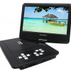 Sylvania Swivel 10″ Portable DVD Player w/ SD Card Slot, USB, & Rechargeable Battery! for $59.99