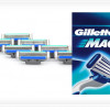 Pack of 8 Gillette Mach3 Refill Blades with Triple-Blade System, Pivoting Head, Comfort Guard, & 10 Microfins! for $15.9…