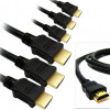 Multi-Pack: Gold Tip, High Speed, 3D Capable HDMI Cables with Full 1080p HD – in 10′, 15, or 25′! for $9.99