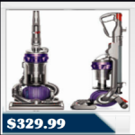 Dyson DC25 Animal Bagless Upright Vacuum Cleaner $329.99