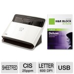 NEATDESK DESKTOP SCANNER W/ADF & H&R BLOCK DELUXE – $399.99
